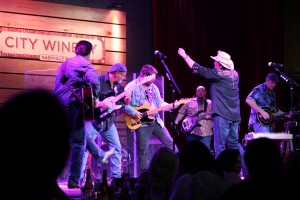 "Smith & Wesley Band at Nashville City Winery, a great finale - ""Need Somebody Bad."""